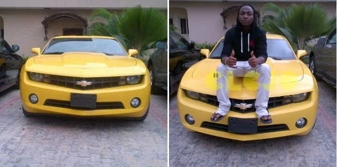 Living large! Check out these 6 photos of Davido and his luxury cars