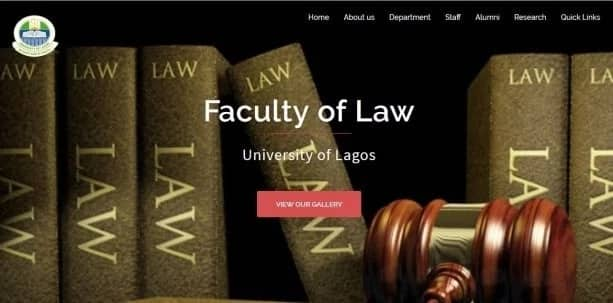 University of Lagos Faculty of Law