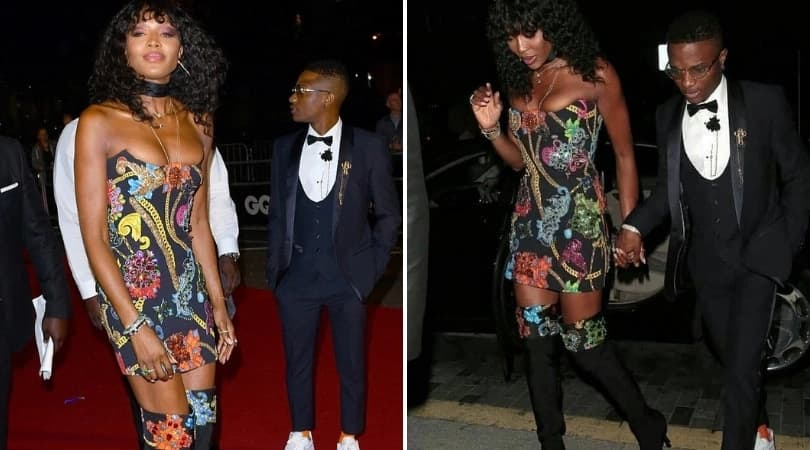Naomi Campbell speaks on her relationship with Wizkid