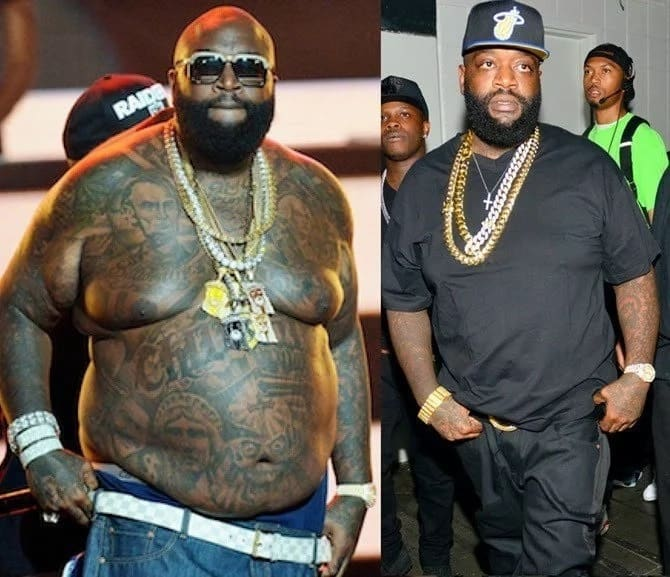 Rick Ross after losing weight