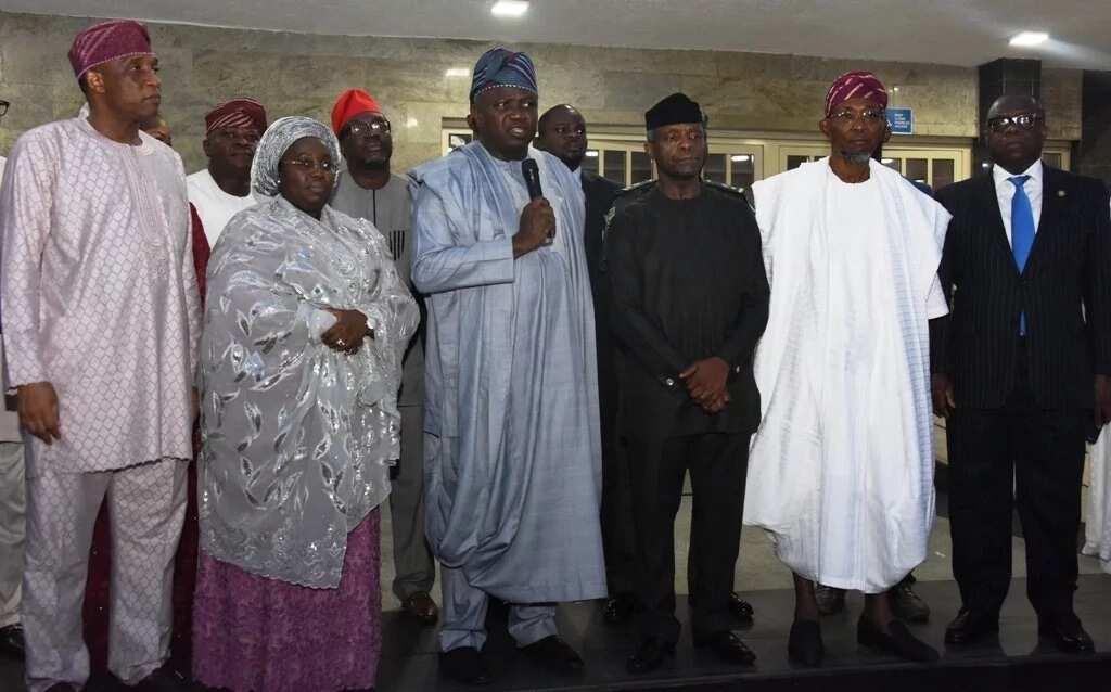 Osinbajo visits Lagos over Otedola bridge fire