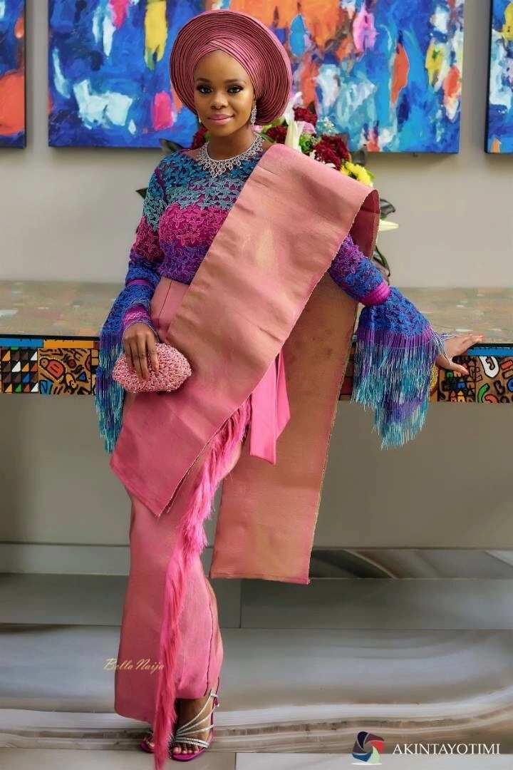 Zainab Balogun's engagement attire