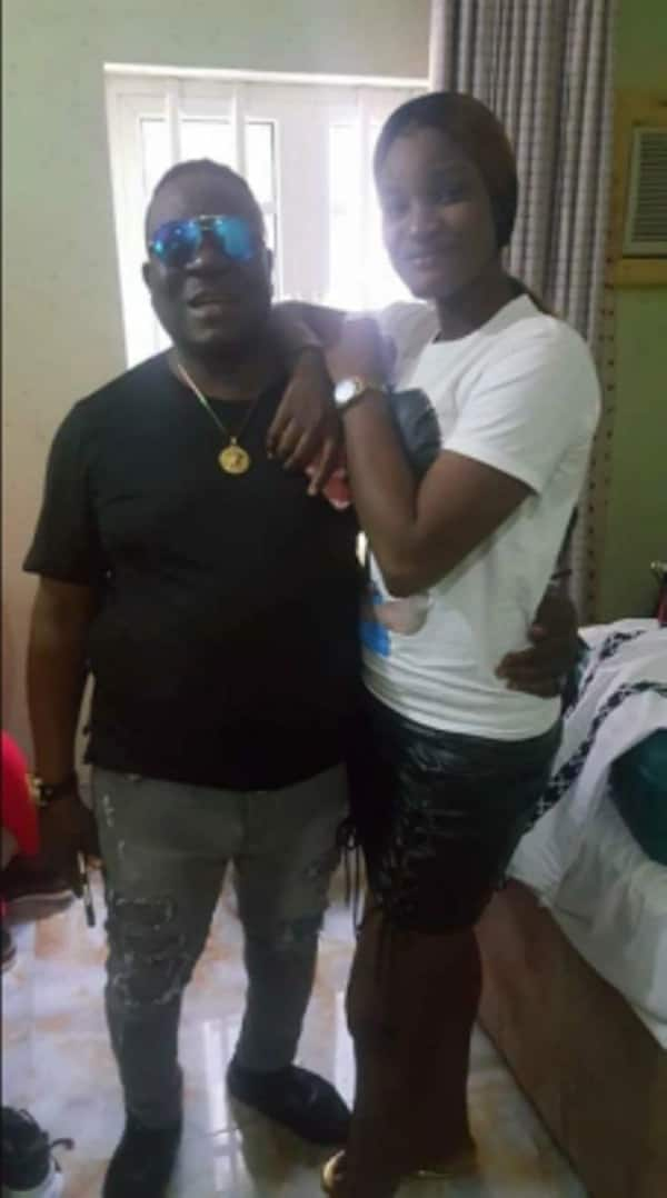 Nigerian lady narrates her one night stand with Nollywood actor Mr Ibu (photos)