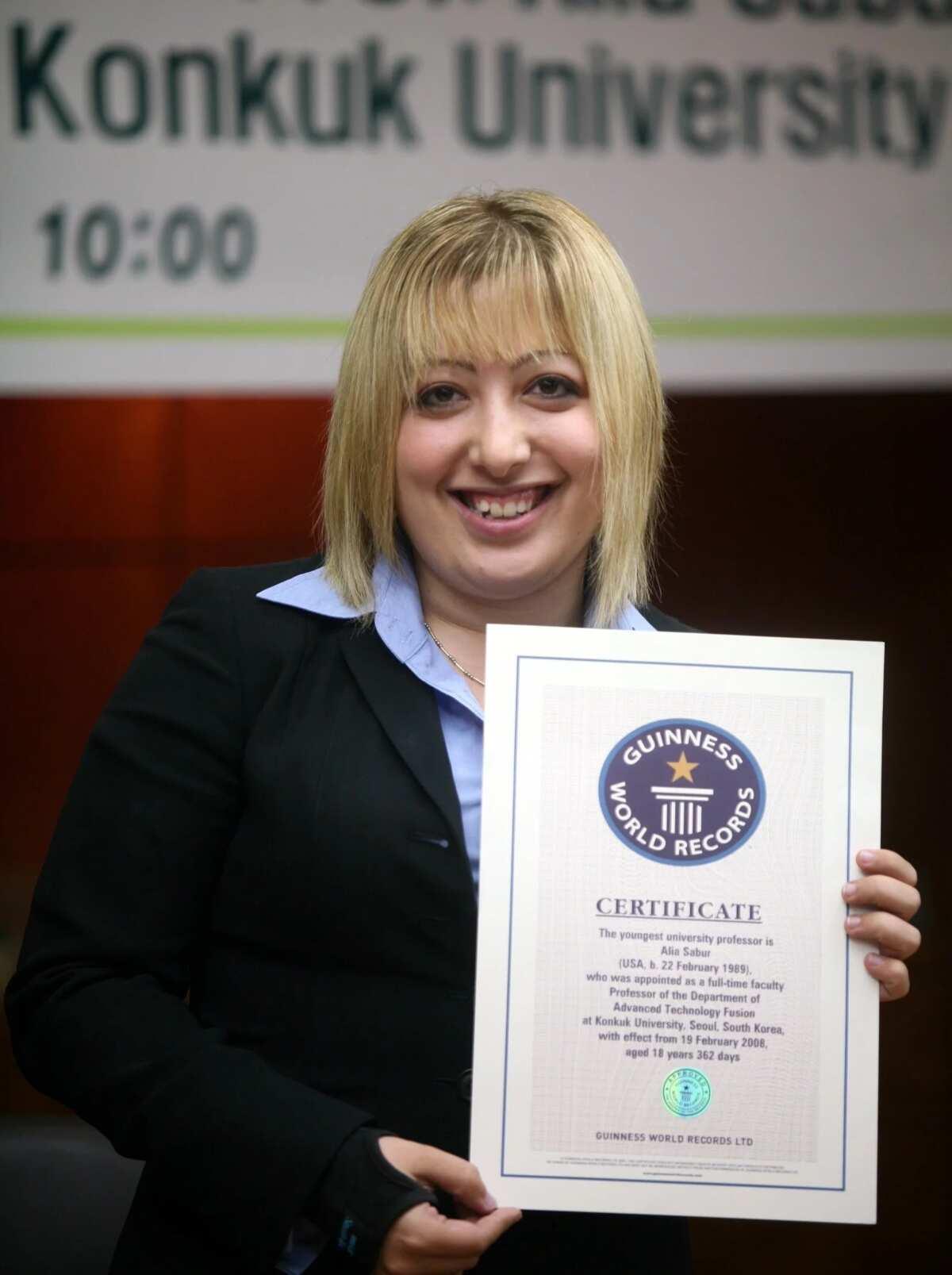 Alia Sabur in Konkuk University