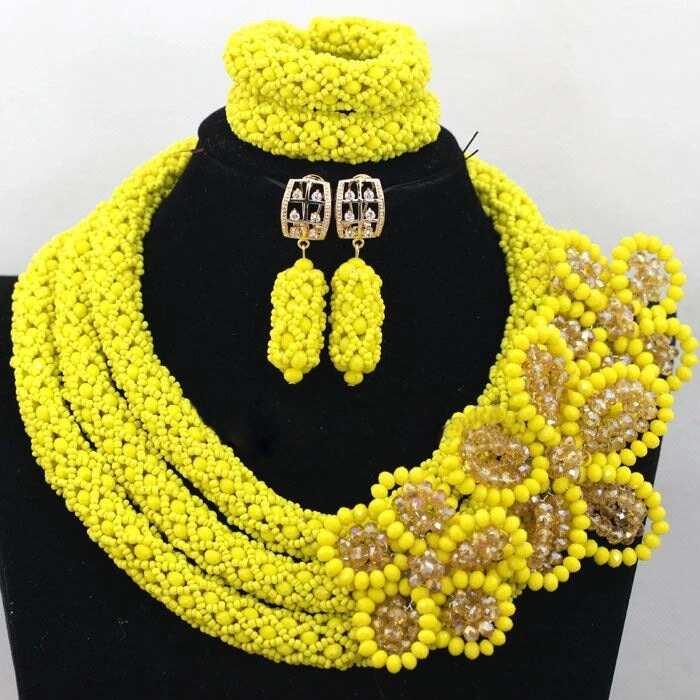 Yellow bead style