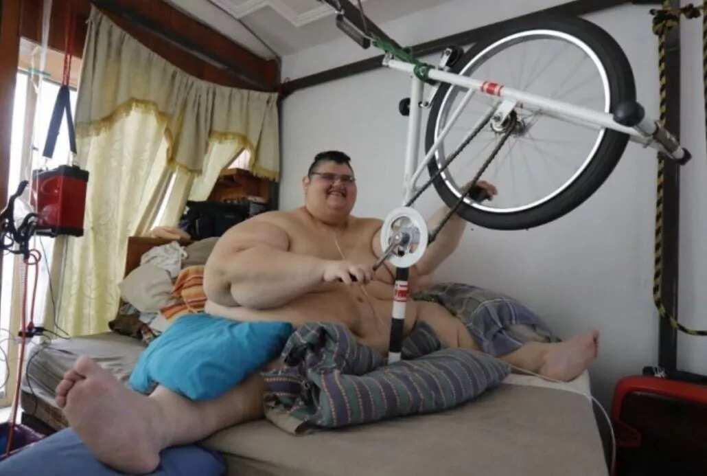 Fattest man in the world 2017 record Juan Pedro Franco