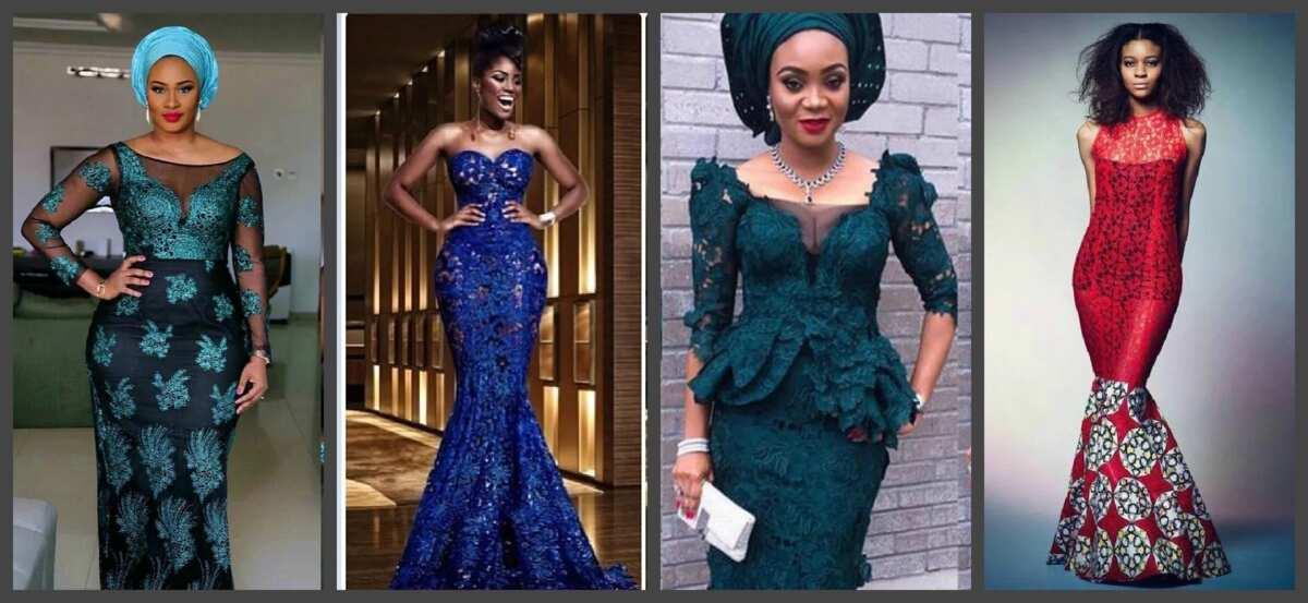 Nigerian Lace Styles Dress 2017