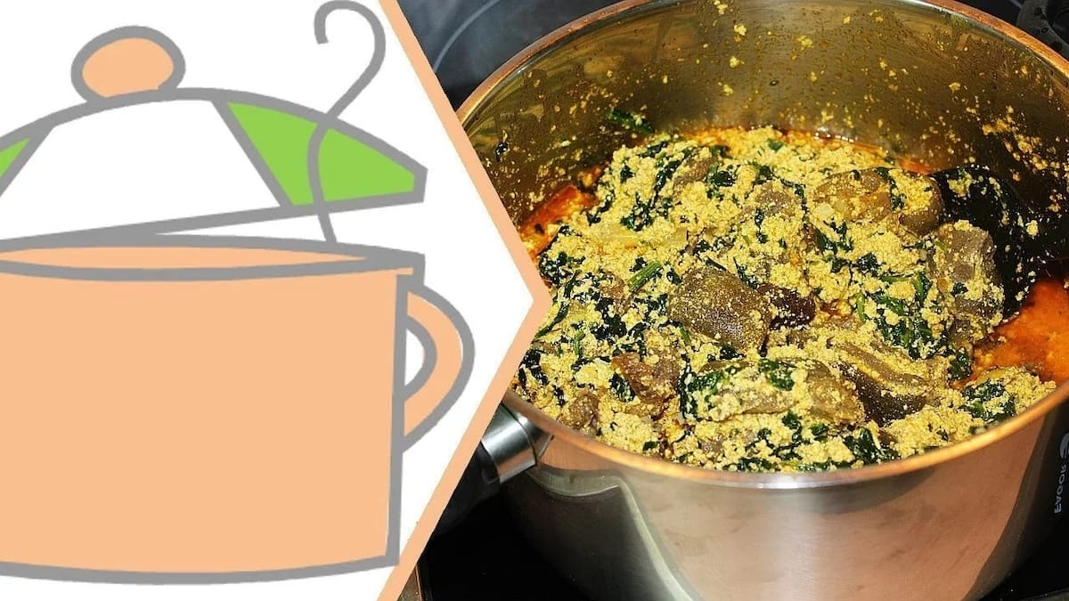 How to prepare egusi soup with lumps
