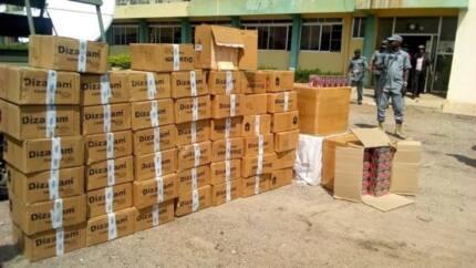Customs raid warehouse in Gombe state, seize tramadol, diazepam worth N7m