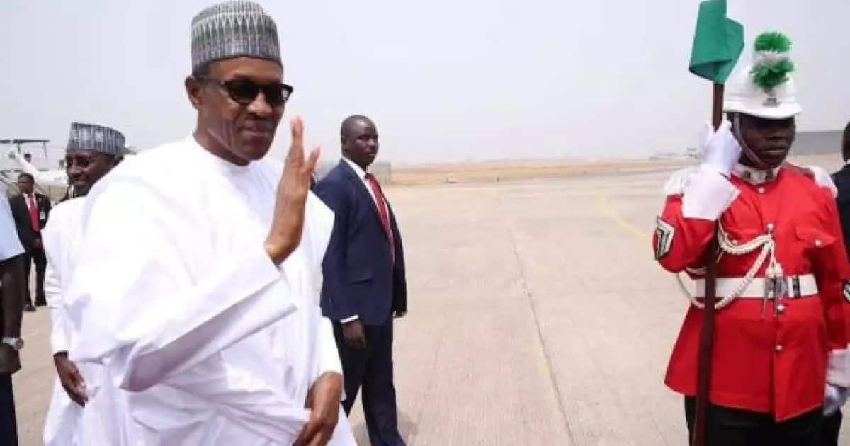 What Buhari said about Peace Corps of Nigeria?