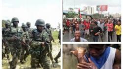 Kalli bidiyon Amnesty International na sojoji da suke kai hari ga masu zanga-zangar Biafra tare da bindigogi