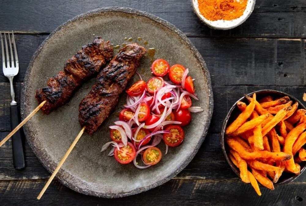 Hausa food - Suya