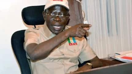 2019 election: INEC cannot disenfranchise the people of Zamfara from participating - Oshiomhole
