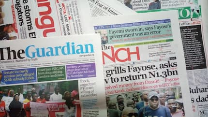 Newspaper review: EFCC detains Fayose as Fayemi threatens probe