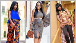 Get inspired by the best Ankara styles for pregnant ladies