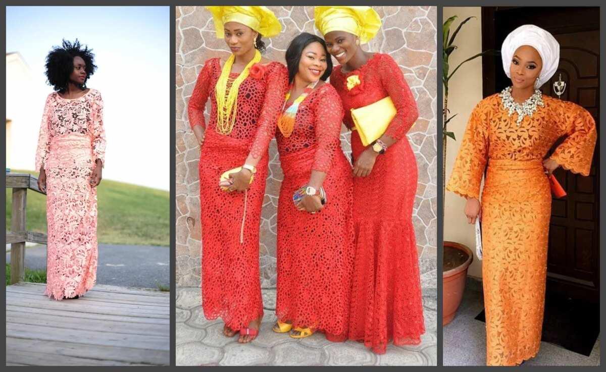 f56ea57cf34779 Cord lace Iro and Buba styles in Nigeria 2017 ▷ Legit.ng