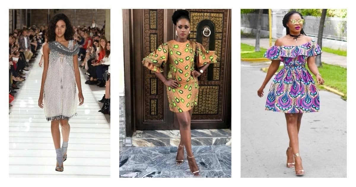 6cef38f0ef5 Latest short gown styles for real fashionistas ▷ Legit.ng
