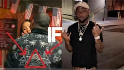 Just as he welcomes his second child, here's proof Davido may be part of Illuminati (photos)