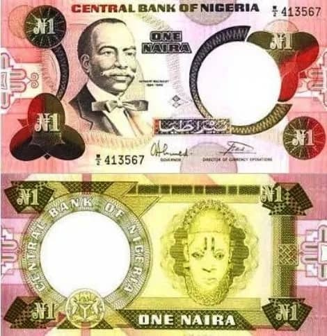 Checkout Nigerian Currency From Past To