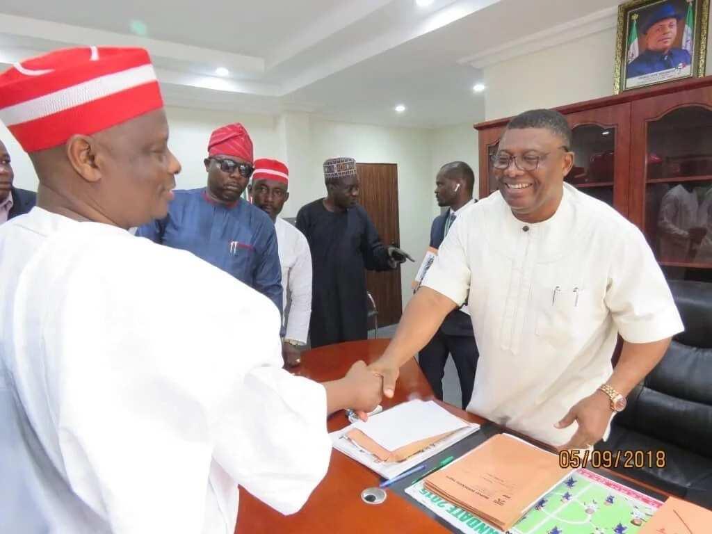 Kwankwaso ya cike fam din tsayawa takaran 2019 a karkashin Jam'iyyar PDP