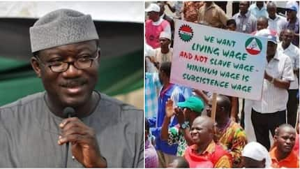 Ekiti governor declares support for workers, says agitation for new national minimum wage is legitimate