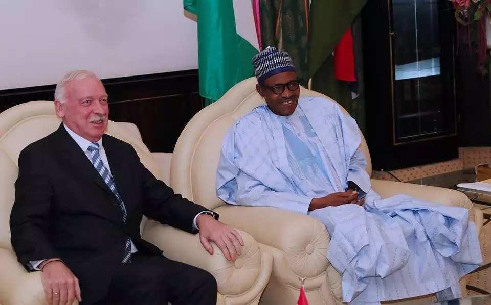 Buhari receives outgoing Ambassador of Denmark