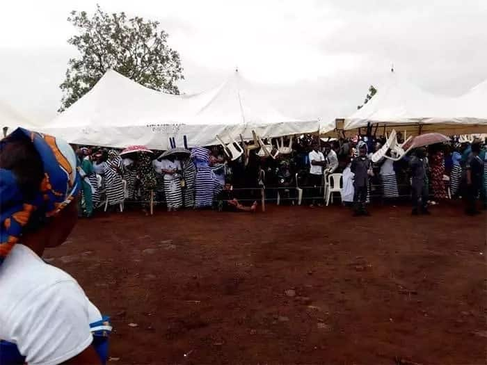 Tears as Benue buries 2 Catholic priests, 17 parishioners allegedly killed by suspected herdsmen (photos)