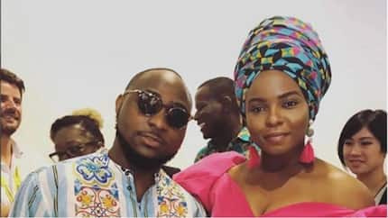 Yemi Alade slams troll who mocked her photo with Davido