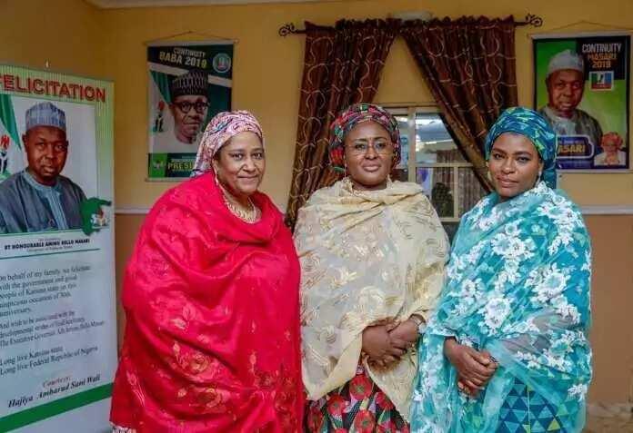 Cikin Hotuna: Aisha Buhari ta ƙaddamar da Cibiyar tallafawa Mata a Garin Daura