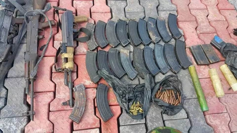 Seven suspects were arrested including two women. Photo source: SK Usman