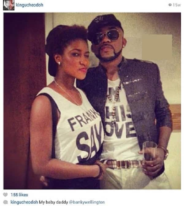 How old is Banky W daughter and who is her mother?