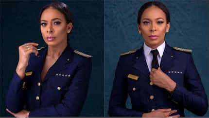 Tboss shares cute pictures of her in a pilot uniform, reveals she always wanted to be a pilot