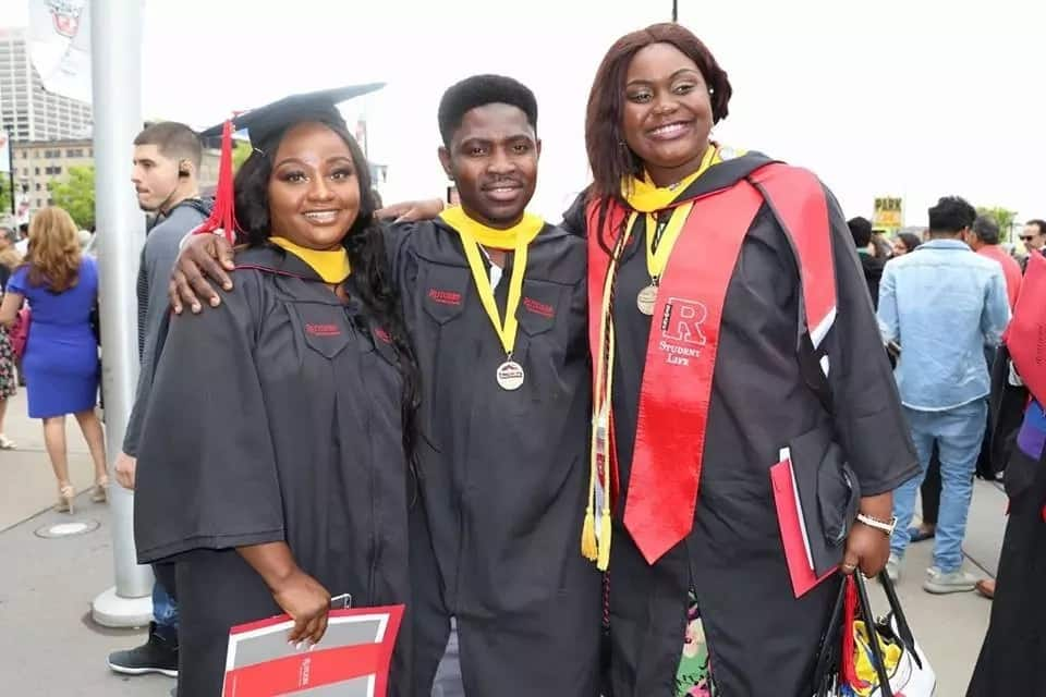 Legit.ng reader Stanley Uyi deserves some accolades as he graduates from US university