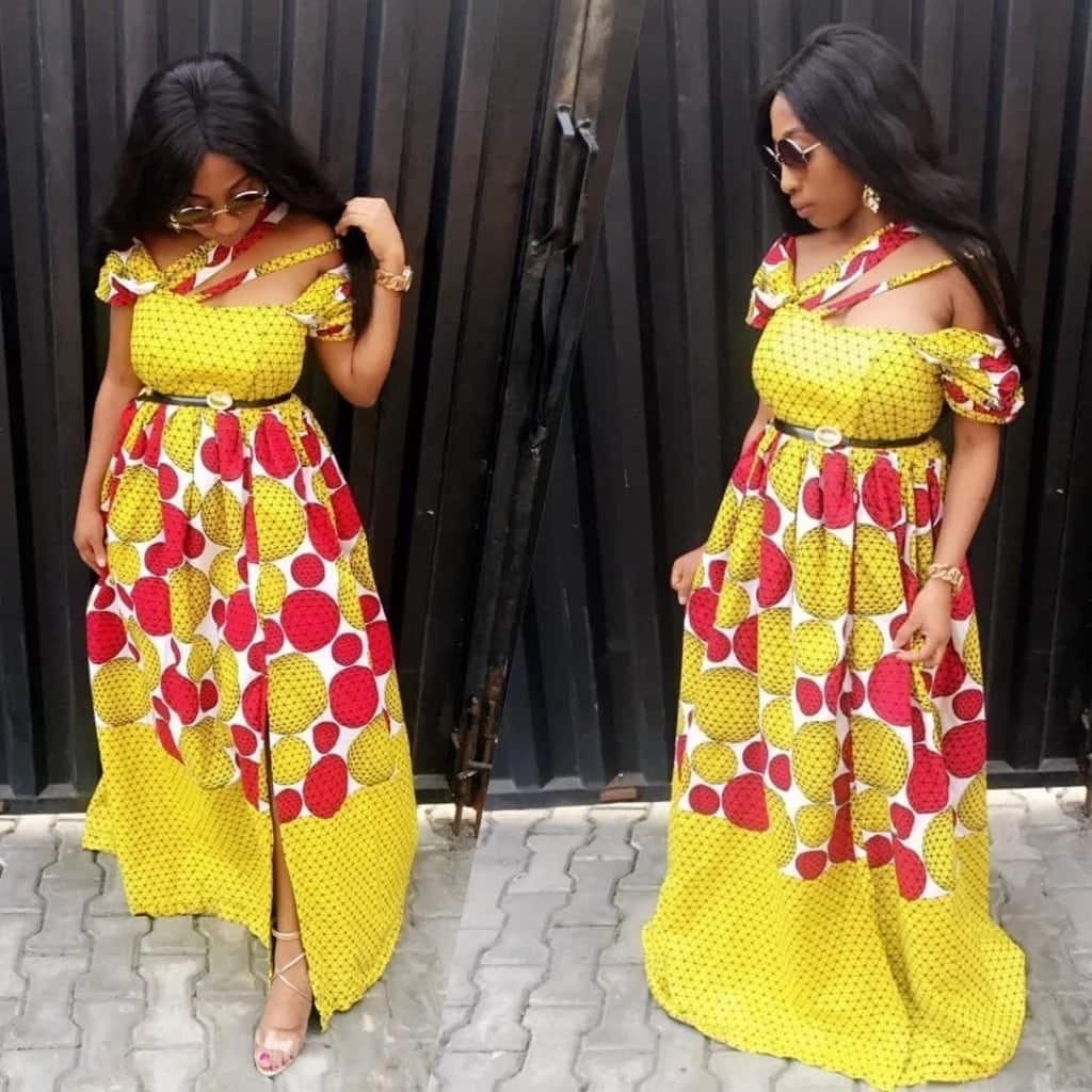 Get Chic In Ankara Gowns Legitng