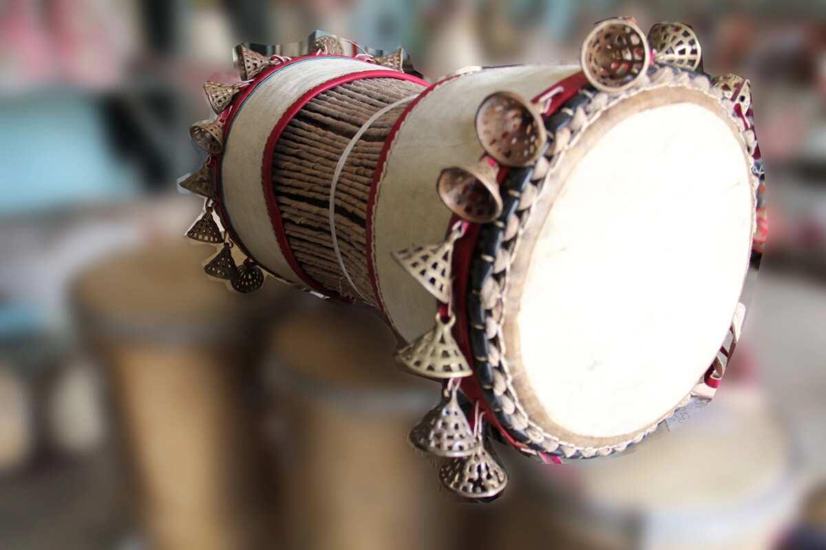Gangan drum