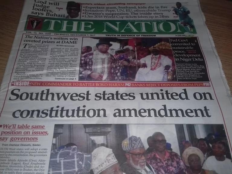 The Nation Newspaper