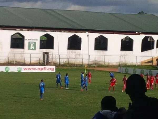 FT: Abia Warriors 0-1 Enyimba