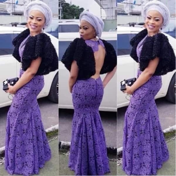 New Nigerian lace styles 2018