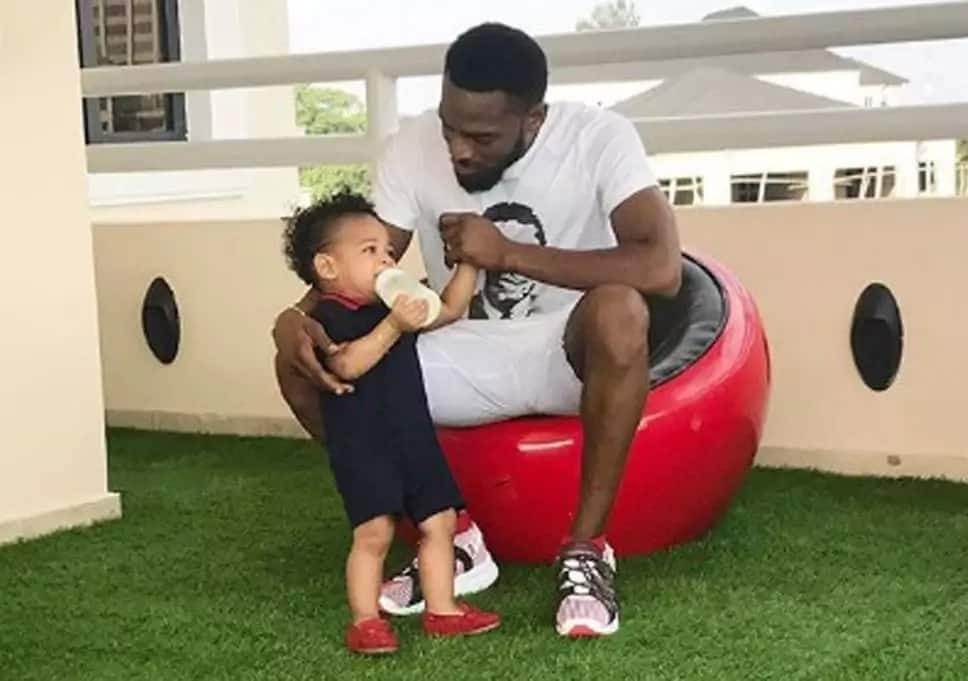 DBanj and son