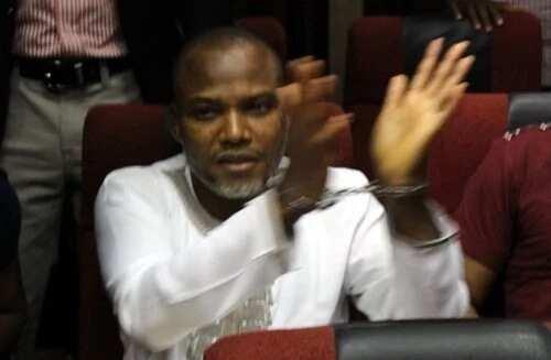 Da Duminsa: 'Yan Sanda Sun Cafke 'Yan IPOB a Wurin Shari'ar Nnamdi Kanu