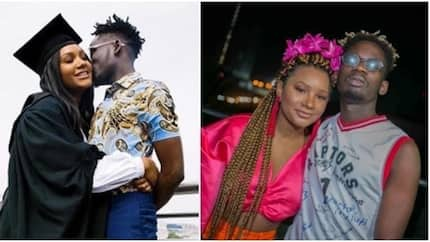 Singer Mr Eazi proclaims billionaire daughter Temi Otedola as his one and only girlfriend