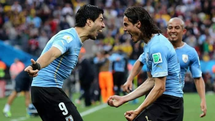 Russia 2018: Cavani's double sends Portugal and Ronaldo out as Uruguay progress to the quarterfinal