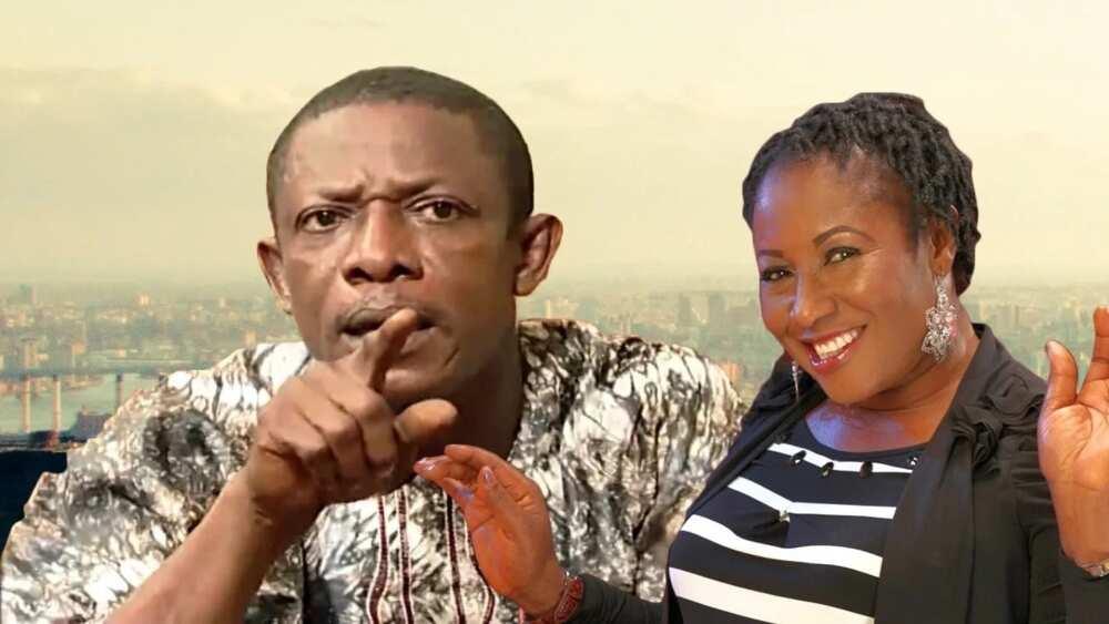Nkem Owoh and Wife