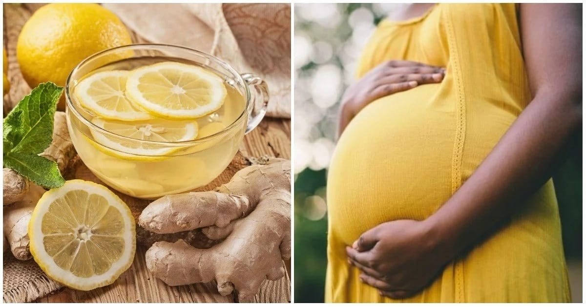 Can a pregnant woman take lemon and ginger? ▷ Legit ng