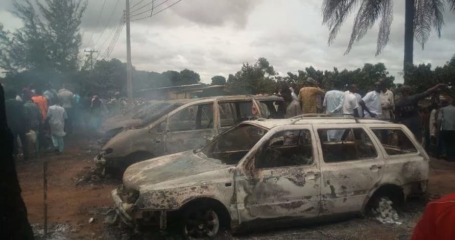 Just in: Black Monday in Nasarawa as filling station explodes, many killed