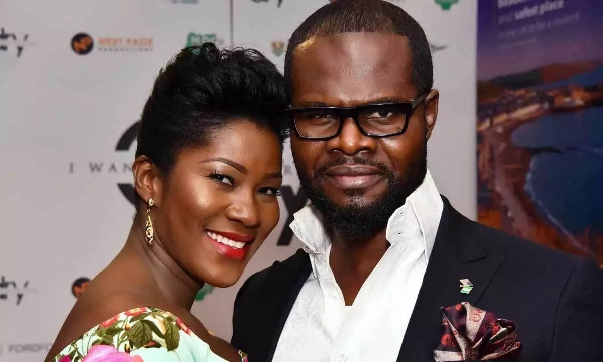 Stephanie Okereke and husband