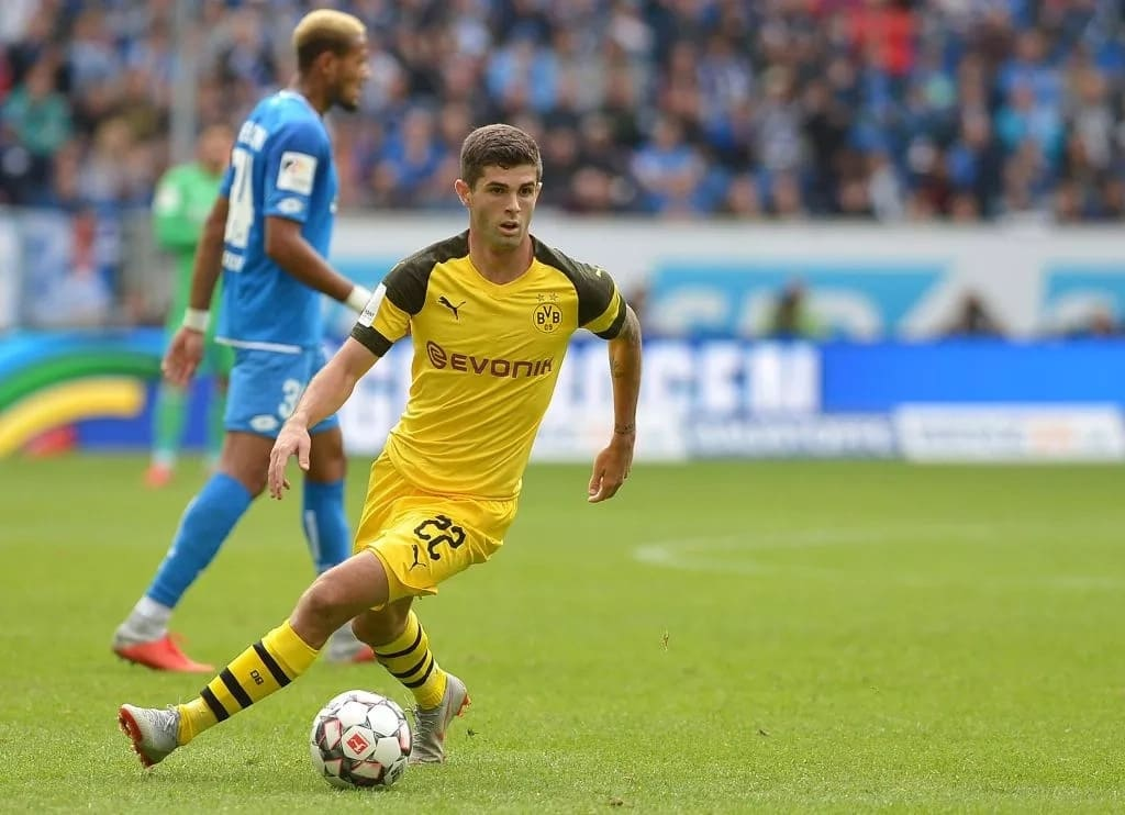 Chelsea boss Sarri to sign £60m rated Dortmund star Christian Pulisic in January - Legit.ng