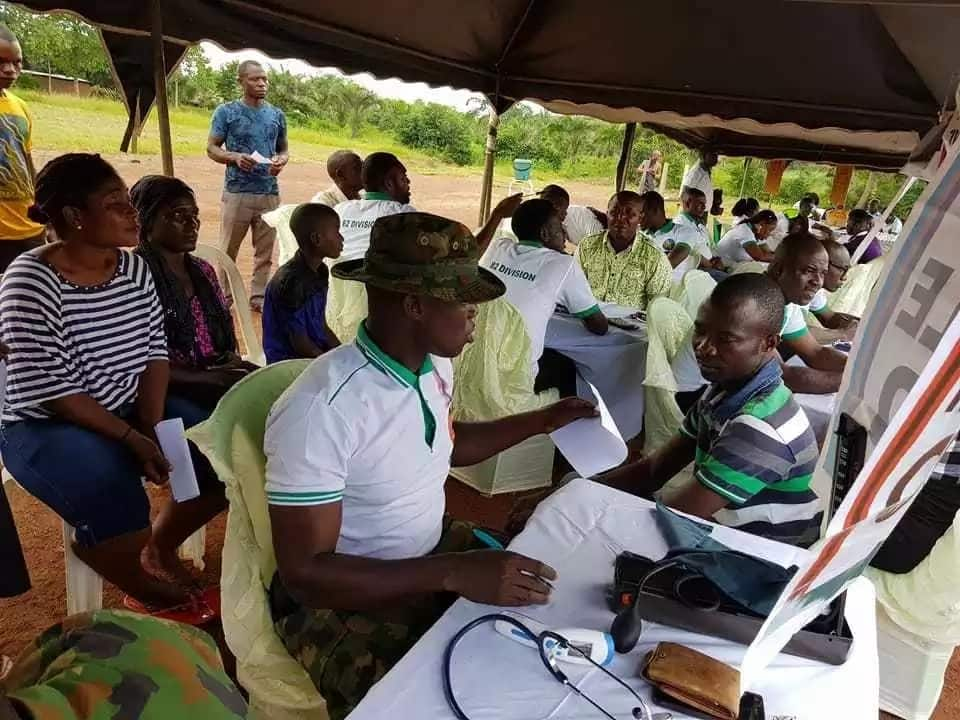 Army provides free medical services in Ebonyi as part of Operation Python Dance