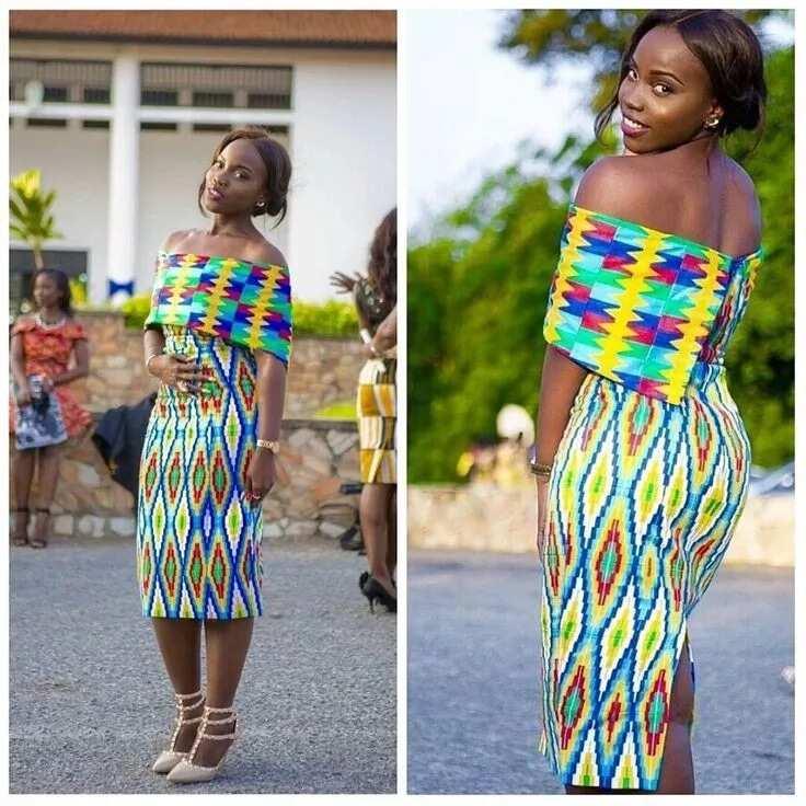 Ankara straight dress