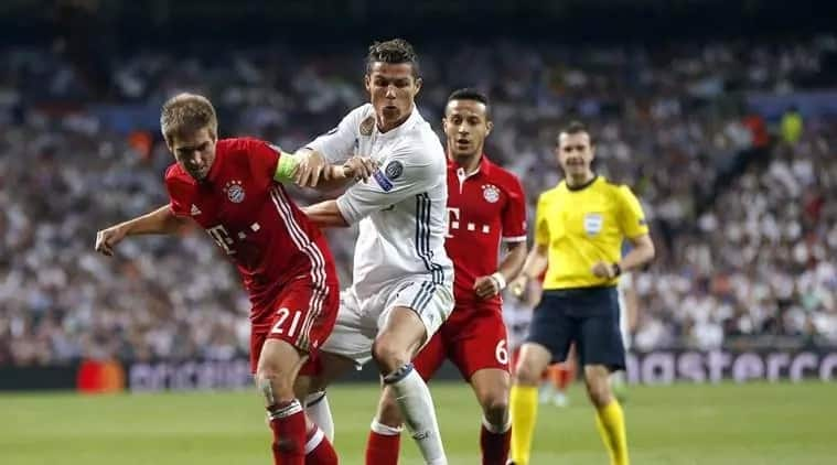 Real Madrid's head to head record against Bayern Munich